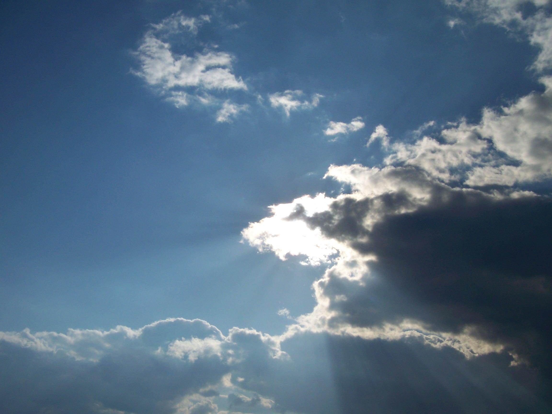 Sky in the Russian Village...